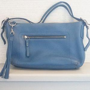 Coach Bags - Authentic Coach Blue Tassel Handbag